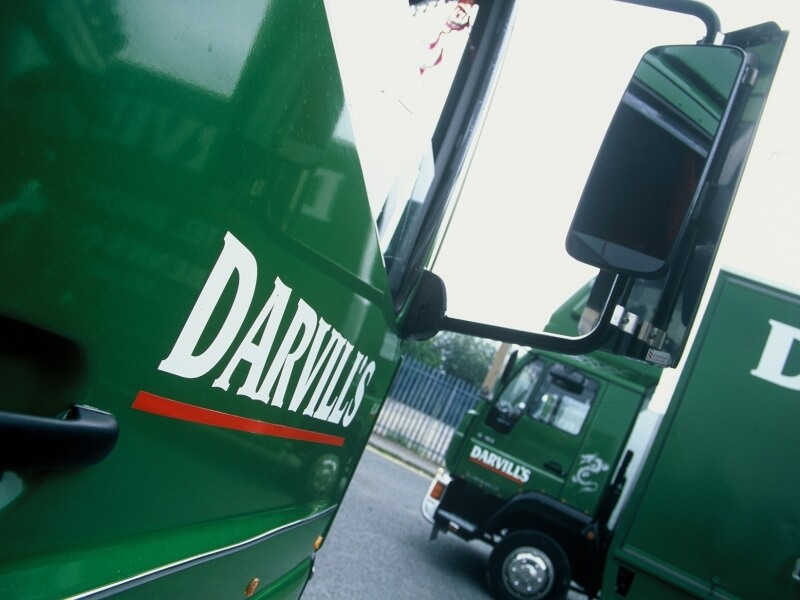 darvills removal truck